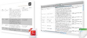 Webkataloge Report PDF Excel